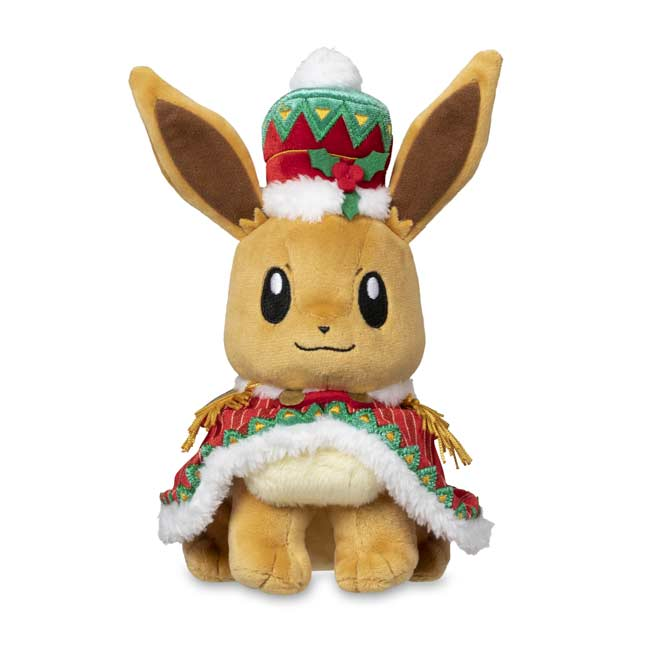 Image for Eevee Pokémon Holiday Extravaganza Poké Plush - 9 1/2 In. from Pokemon Center