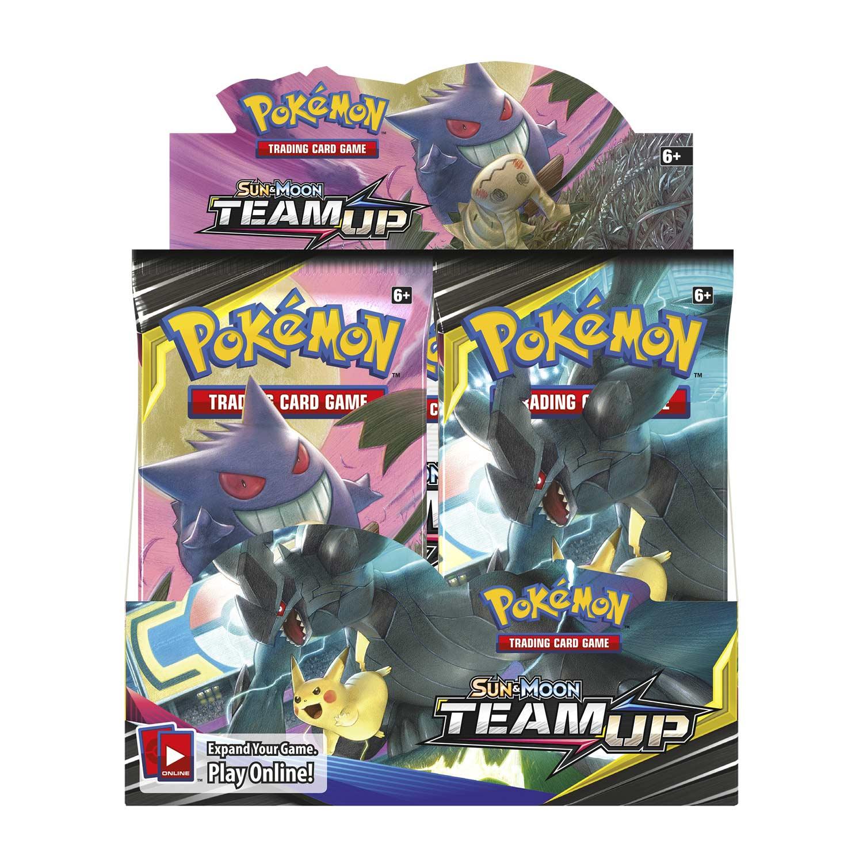 4X Pokemon Sun /& Moon Team Up Spanish Booster Packs all artworks
