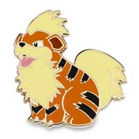 Image for Growlithe & Arcanine Pokémon Pins (2-Pack) from Pokemon Center