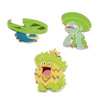 Image for Lotad, Lombre & Ludicolo Pokémon Pins (3-Pack) from Pokemon Center