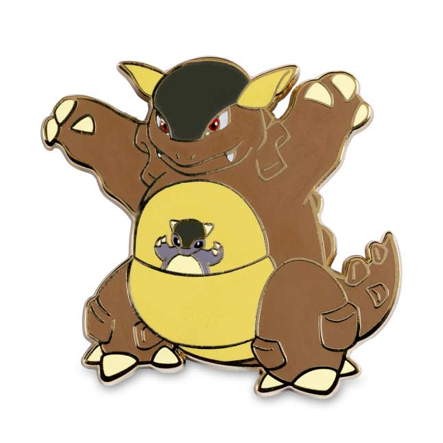 Image for Farfetch'd, Kangaskhan, Mr. Mime & Tauros Pokémon Pins (4-Pack) from Pokémon Center