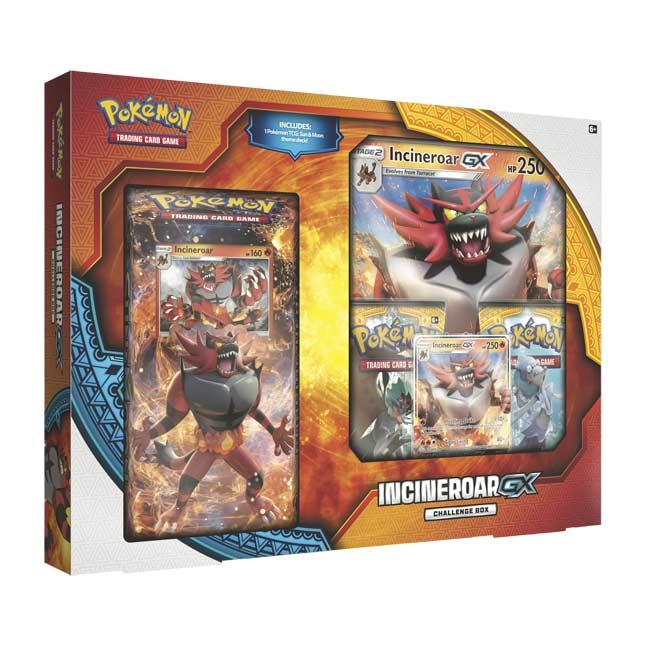 Pokémon TCG: Incineroar-GX Challenge Box