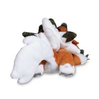 Image for Sleeping Lycanroc (Dusk Form) Kuttari Cutie Plush from Pokémon Center