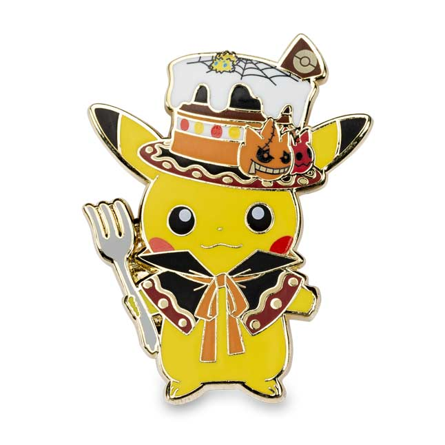 Image for Pikachu, Gengar & Mimikyu Eerie Delights Pokémon Pins (3-Pack) from Pokemon Center