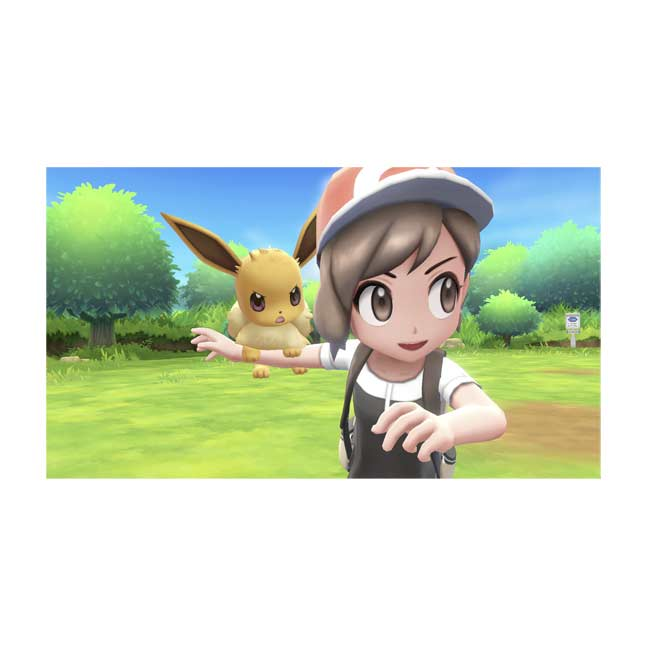 Pokémon: Let's Go, Eevee! for Nintendo Switch. Game Rating Pending