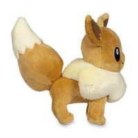Image for Eevee Poké Plush - 7 In. from Pokemon Center