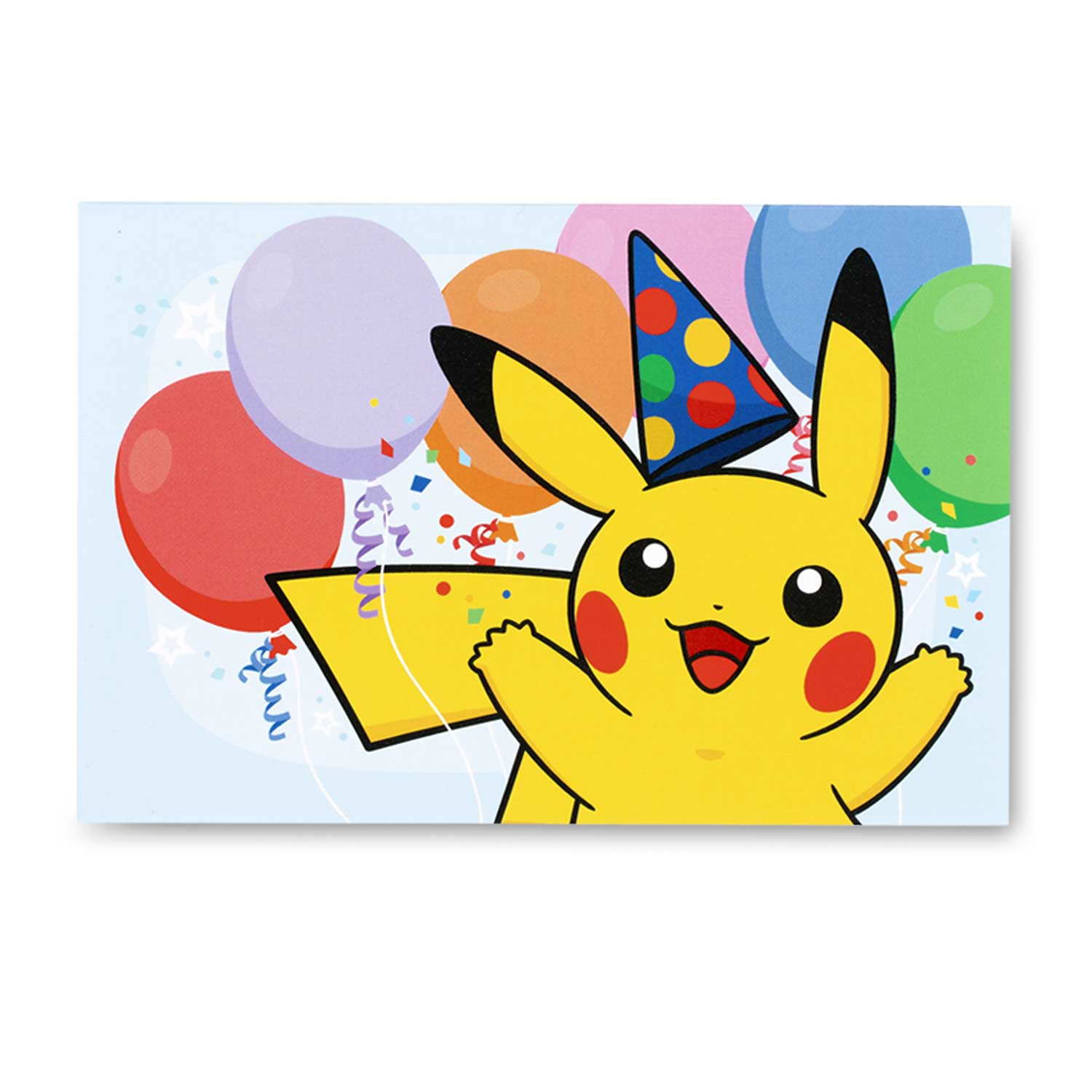 pikachu greeting card set  6 birthday  2 thank you  u0026 4