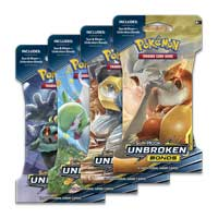 b2e02614 Pokémon TCG: Sun & Moon-Unbroken Bonds Sleeved Booster Pack (10 Cards)