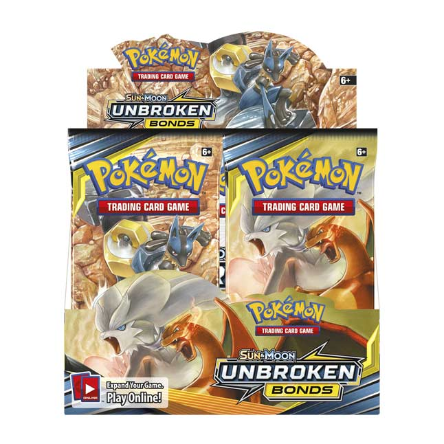 36ct Pokemon SM10 UNBROKEN BONDS Booster Pack Lot FACTORY SEALED /& UNSEARCHED!!