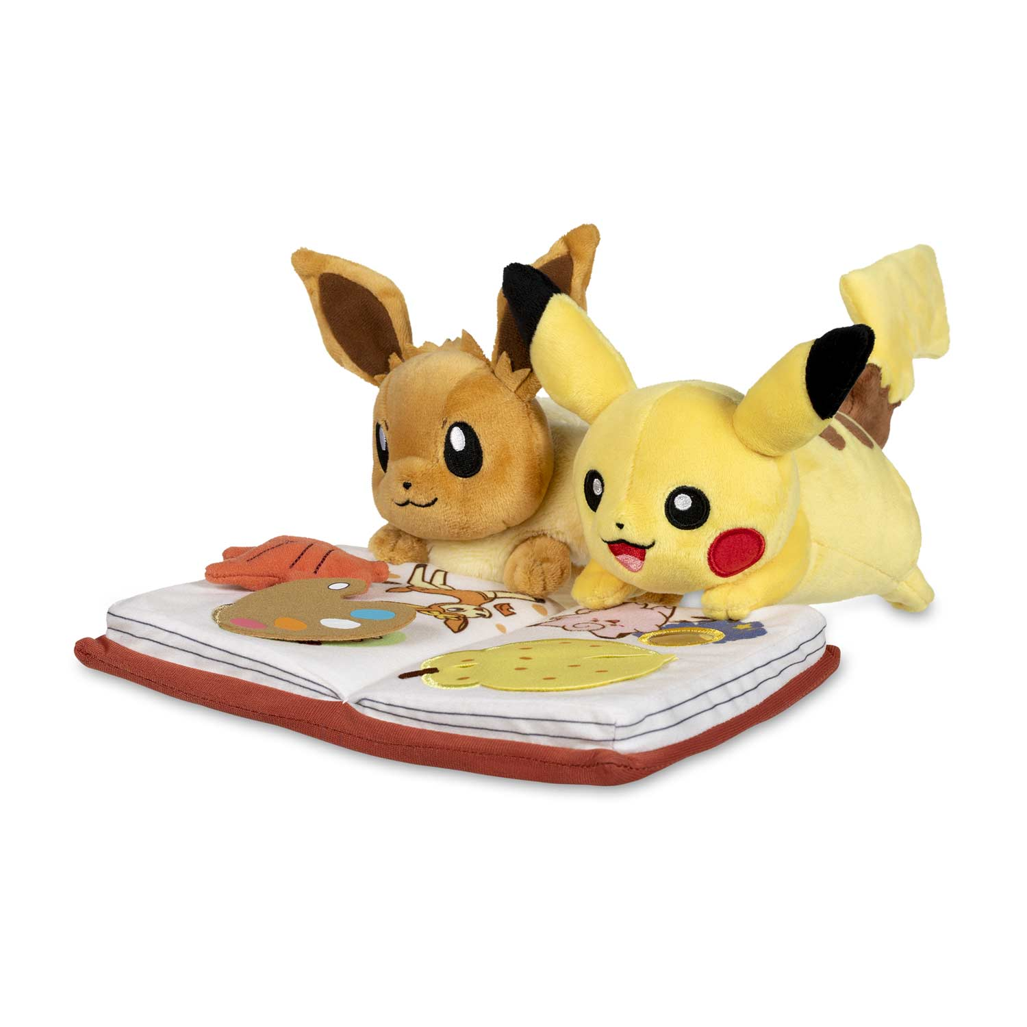 Seasonal Celebrations: Pikachu & Eevee Discovery Days Plush - 12 ...
