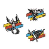 Articuno, Zapdos & Moltres Better Together Pokémon Pins (3-Pack)