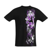 097fda5c Mewtwo Legendary Code Fitted Crew Neck T-Shirt - Adult