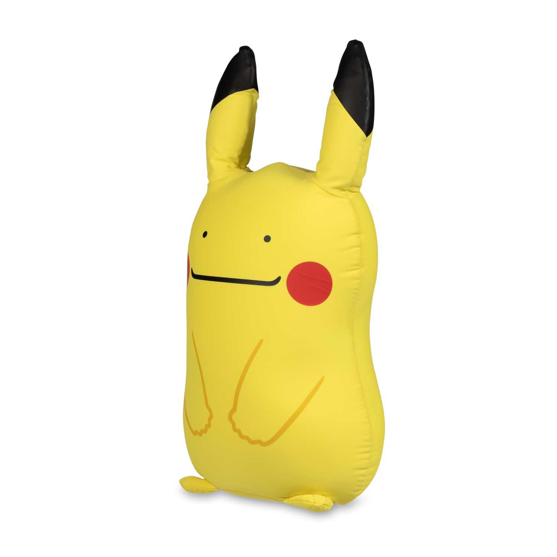 Ditto As Pikachu Microbead Plush Pokemon Center Original