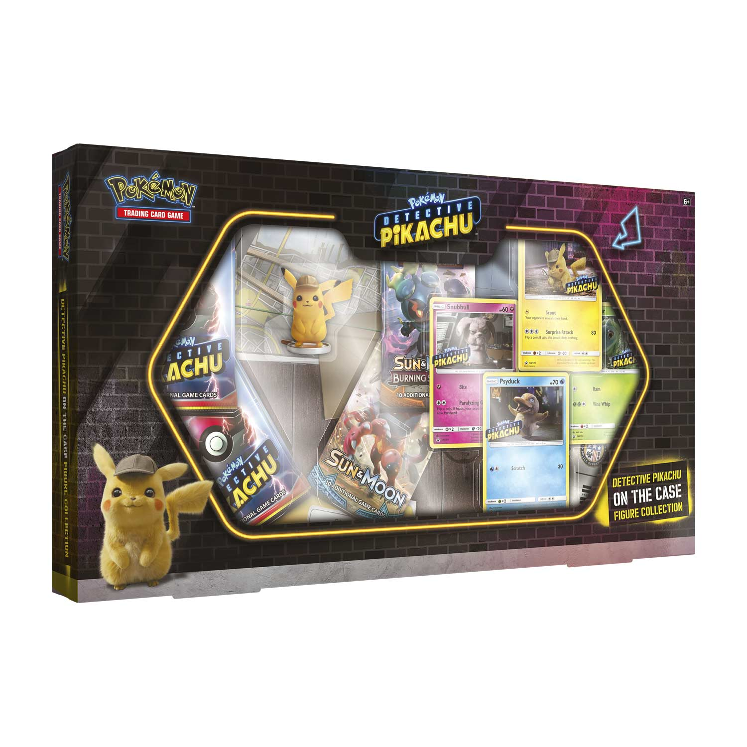 Pokemon Tcg Detective Pikachu On The Case Figure Collection Pokemon Center