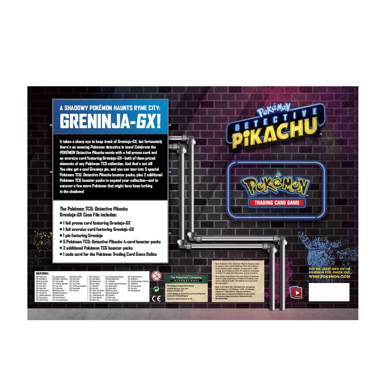 Pokemon Greninja Gx Sm197 Case File CODE CARD Detective Pikachu Messaged