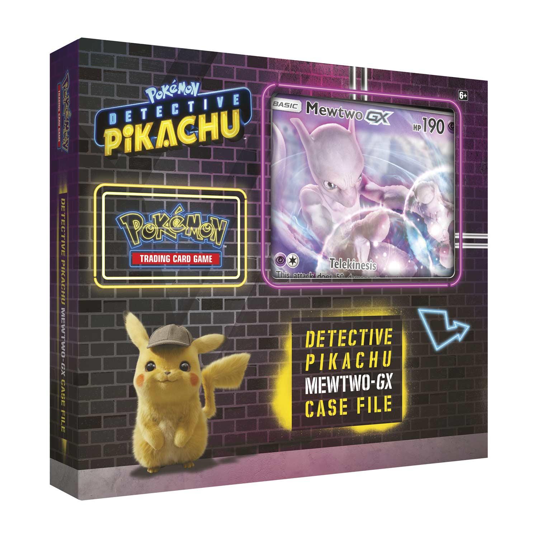 Pokemon Tcg Detective Pikachu Mewtwo Gx Case File Pokemon