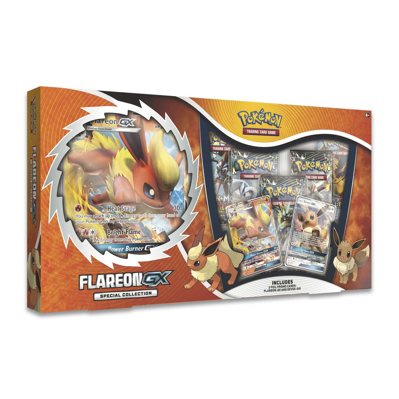 Pokemon Tcg Flareon Gx Special Collection Pokemon Center