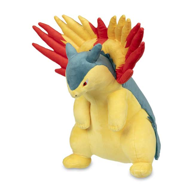 Image for Typhlosion Poké Plush - 12 In. from Pokemon Center