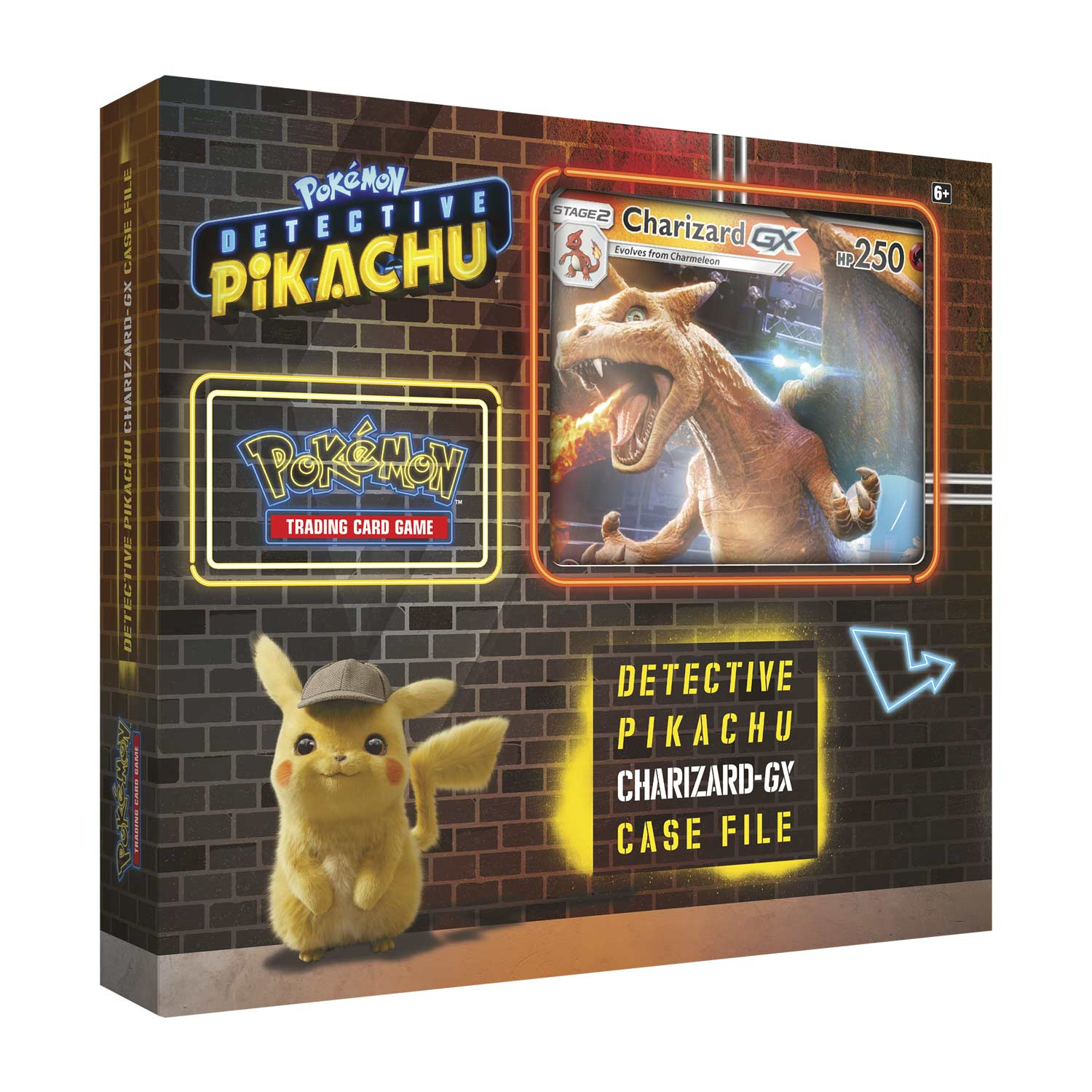 Pokémon Tcg Detective Pikachu Charizard Gx Case File Pokémon Center