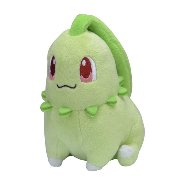 Image for Chikorita Sitting Cuties Plush - 5 ¼ In. from Pokémon Center