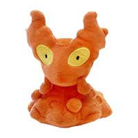 Image for Slugma Sitting Cuties Plush - 6 In. from Pokemon Center