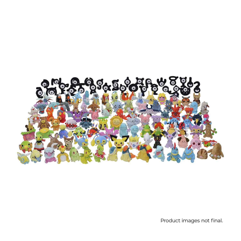 Pokemon Center Original Plush Doll Pokemon fit Unown O 4521329269535 Unknown