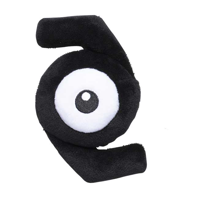 Image for Unown Z Sitting Cuties Plush - 5 ½ In. from Pokemon Center