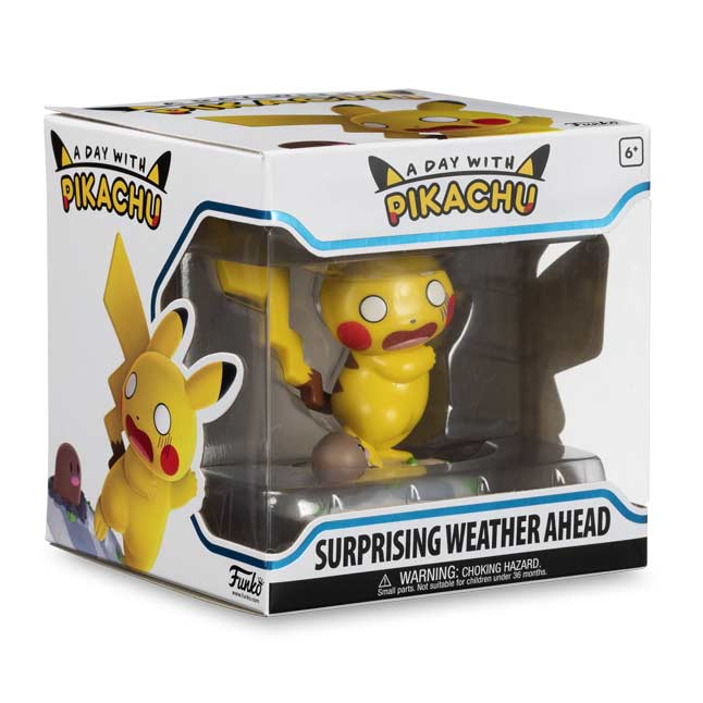 A Day With Pikachu Surprising Weather Ahead