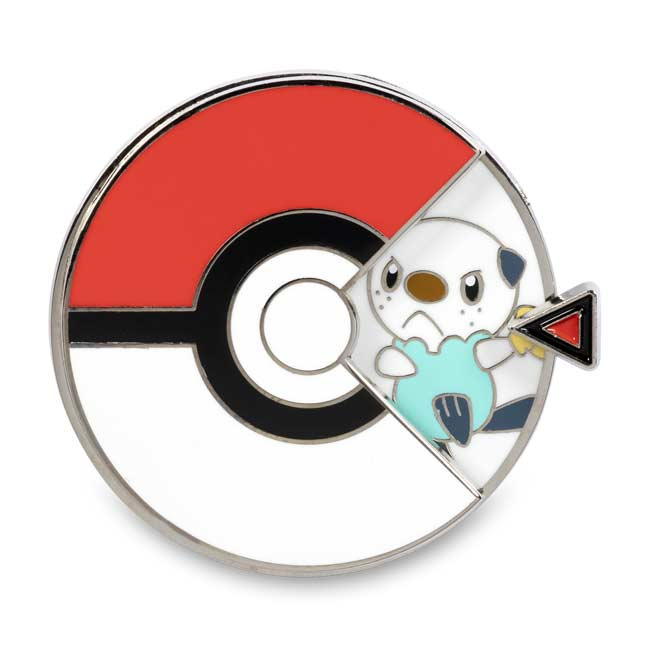 Image for Snivy, Tepig & Oshawott Pokémon Spinner Pin from Pokemon Center