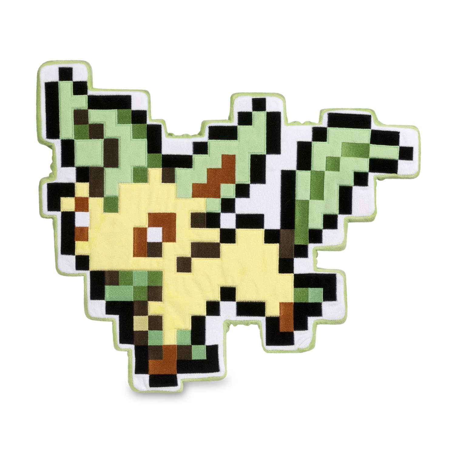 Eevee Pixel Collection Leafeon Plush 18 ½ In