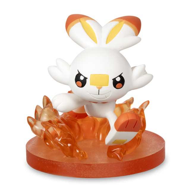 Pokemon Center Pokemon Gallery Figure Quick Attack Scorbunny New Mint Sealed