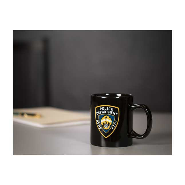 Image for POKÉMON Detective Pikachu Ryme City Police Department 20 oz. Mug from Pokemon Center