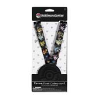 Image for Eevee Pixel Collection! Lanyard & Mini Pokémon Pins (9-Pack) from Pokemon Center