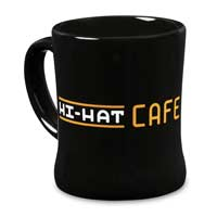 Image for POKÉMON Detective Pikachu Hi-Hat Cafe 14 oz. Mug from Pokémon Center