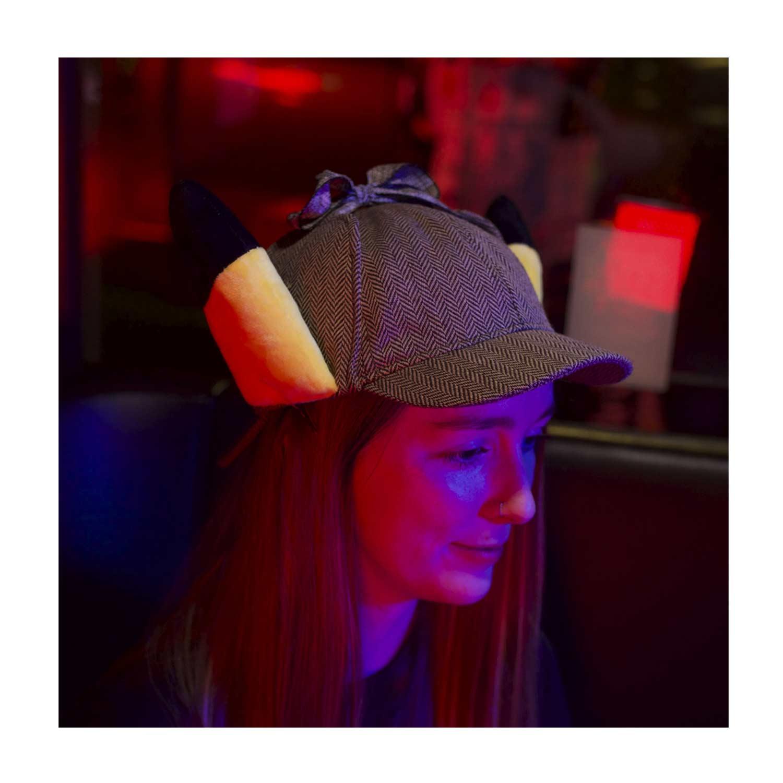 Pokemon Detective Pikachu Plush Ears Hat Pokemon Center Official Site