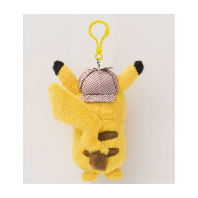 Image for POKÉMON Detective Pikachu Plush Key Chain from Pokémon Center