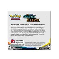 Image for Pokémon TCG: Sun & Moon—Cosmic Eclipse Booster Display Box (36 Packs) from Pokemon Center