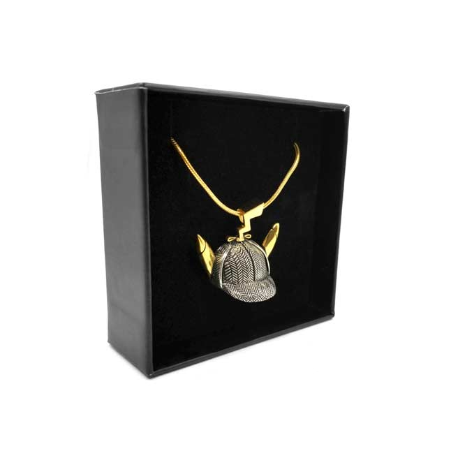 Image for POKÉMON Detective Pikachu Hat Pendant Necklace by Han Cholo from Pokemon Center