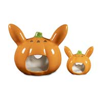 Image for Pumpkin Pikachu Pokémon Halloween Ceramic Tea Light Holders (2-Pack) from Pokemon Center