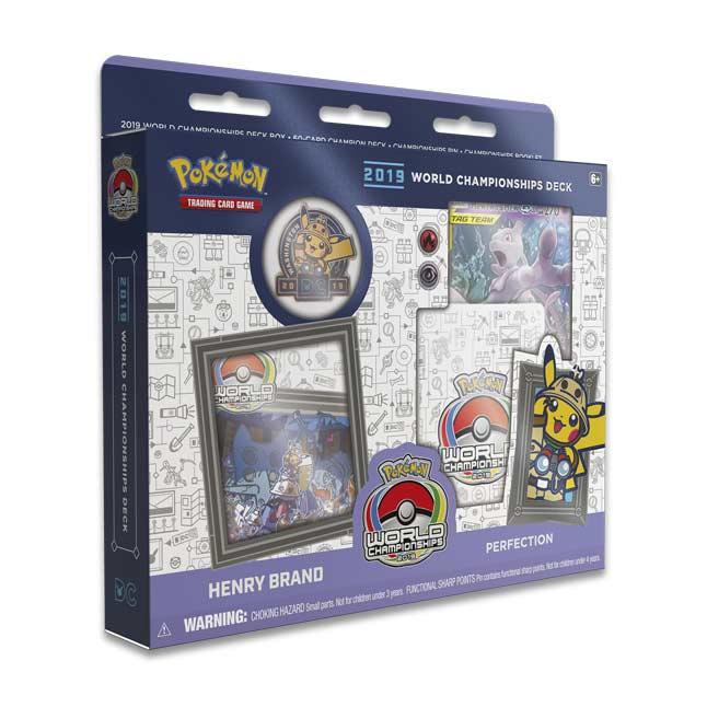 Pokemon TCG VGC 2019 World Championship Exclusive Competitor Pin Brand New
