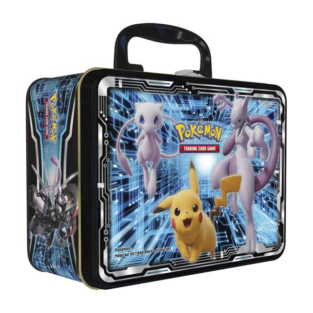 Pokemon Detective Pikachu Collector Chest Lunch Box Tin w// Contents No Packs