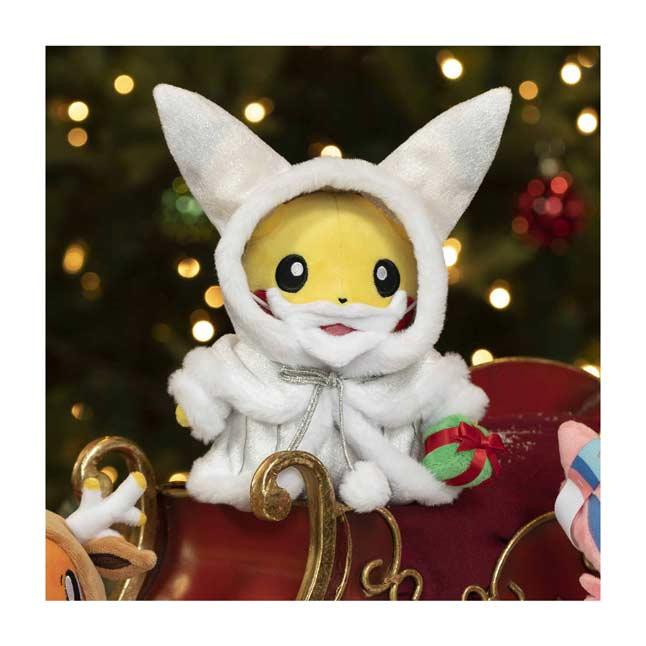 Pokemon Center Christmas 2021 Pikachu Pokemon Holiday Lights Poke Plush 9 In Pokemon Center Official Site
