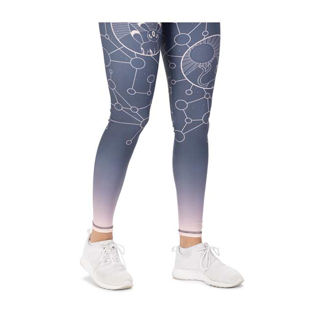 Image for Espeon & Umbreon Starry Constellations Leggings - Adult from Pokémon Center