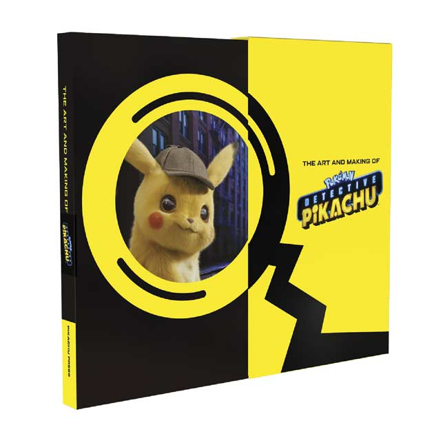 Image for The Art and Making of POKÉMON Detective Pikachu from Pokemon Center