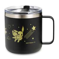 Image for Eevee Can't Wait 12 oz. Stainless Steel Camper Mug from Pokemon Center