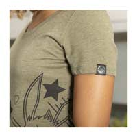 Image for Eevee Can't Wait Sage Fitted Scoop Neck T-Shirt - Women from Pokemon Center