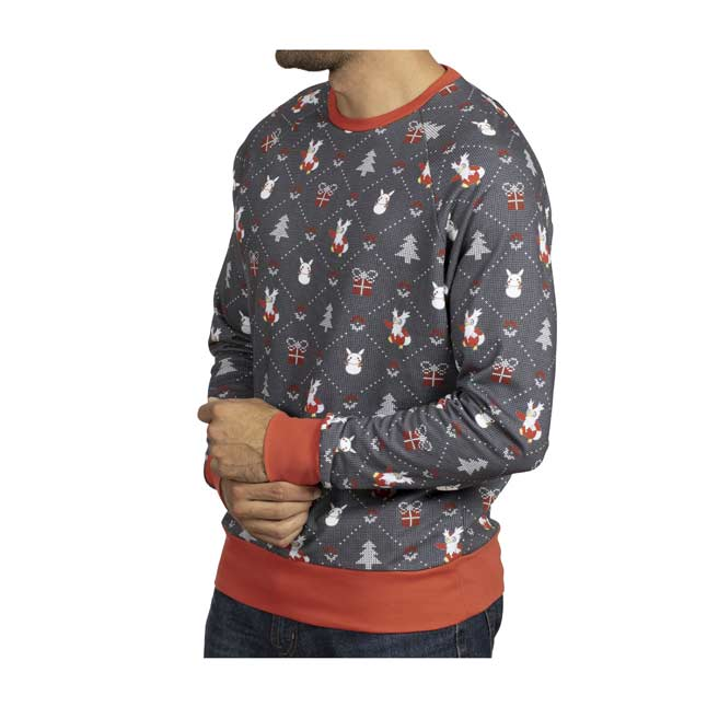 Image for Delibird Presents Holiday Crew Neck Sweatshirt - Adult from Pokémon Center