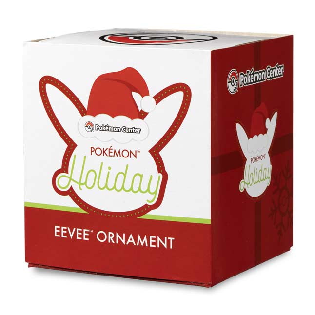 Image for Eevee Pokémon Holiday Ornament from Pokemon Center