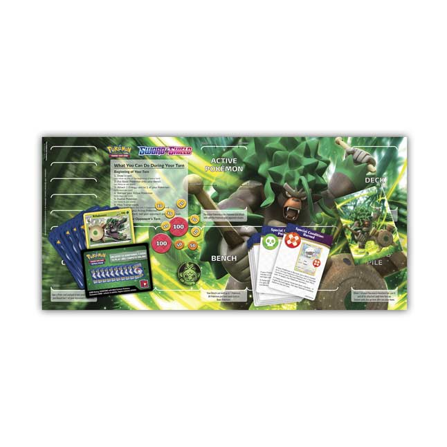 Trading Card Game Sword and Shield Rillaboom Starter Deck Pokemon TCG