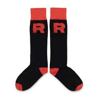 Image for Team Rocket Socks (One Size-Adult) from Pokemon Center